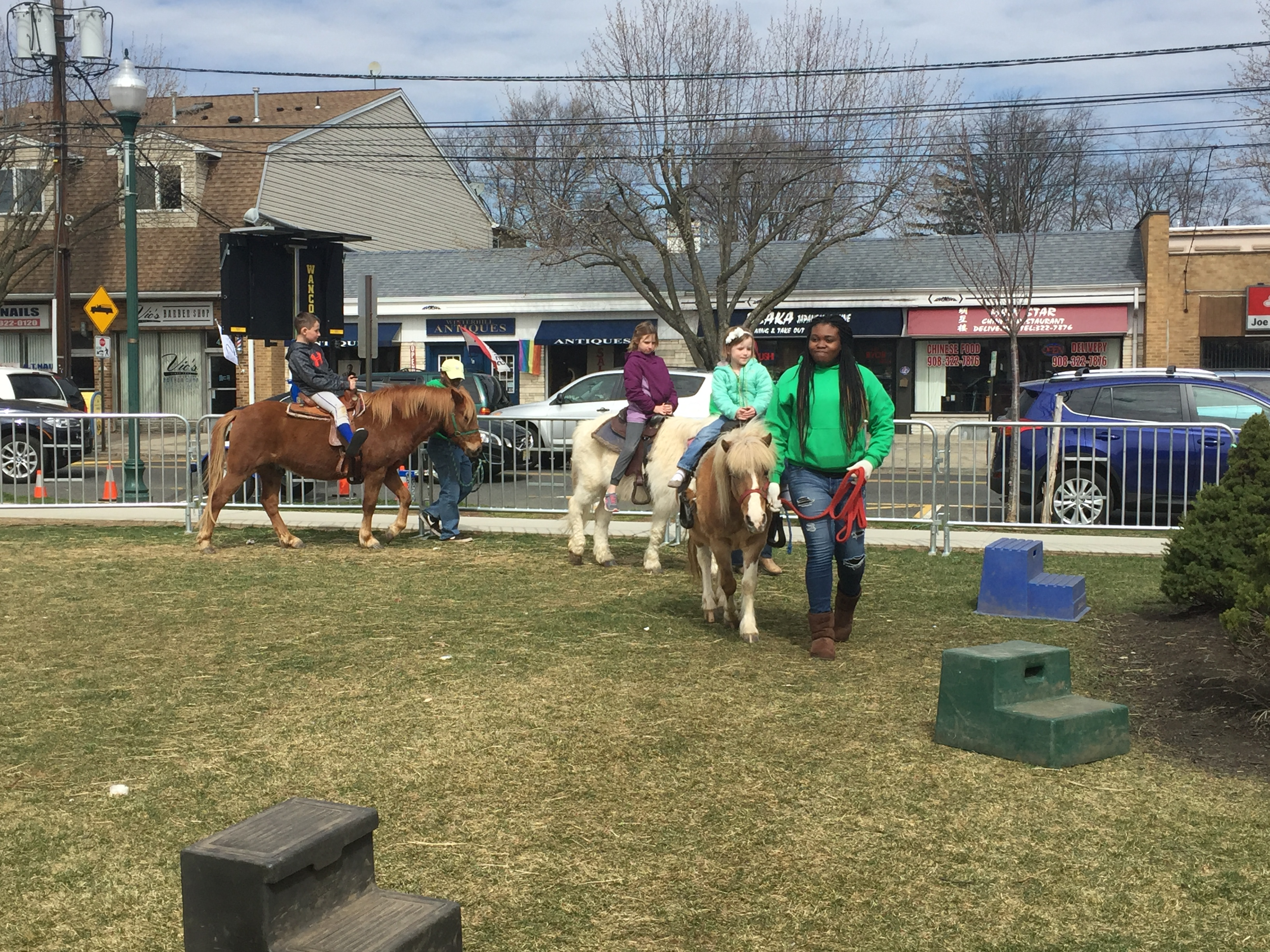 Bubba and Friends giving pony rides